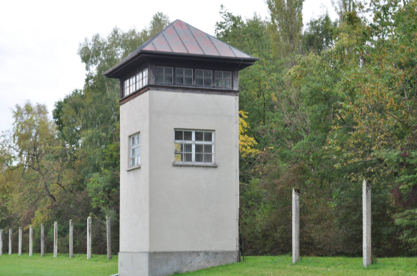 Dachau guard tower